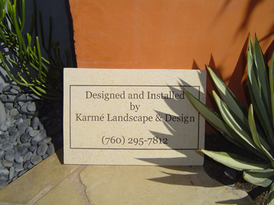 karme-plaque